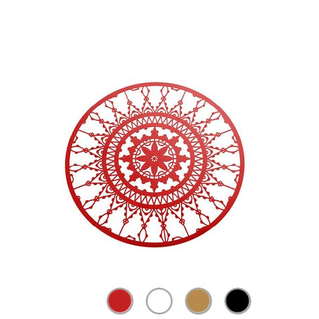 Driade Italic Lace Round placemat Ø 10 cm
