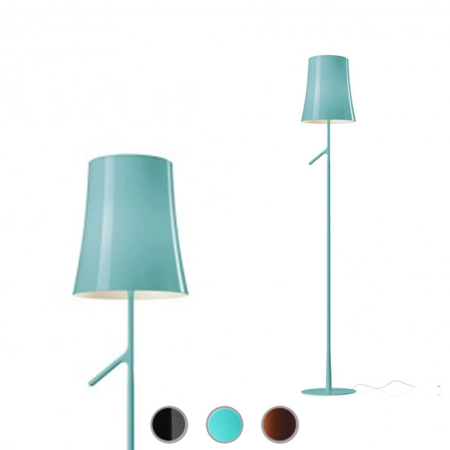 Foscarini floor lamp Birdie LED 8.4W H 150 cm Touch Dimmer