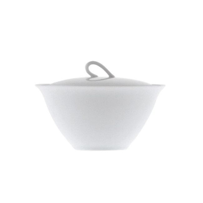Driade The White Snow Bowl with lid set 6 Ø 13 cm