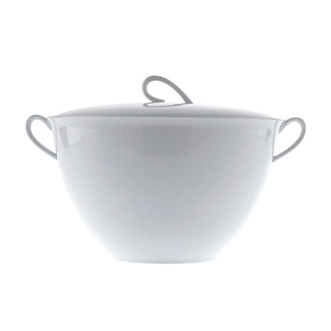 Driade The White Snow Soup tureen with lid L 31,6 cm