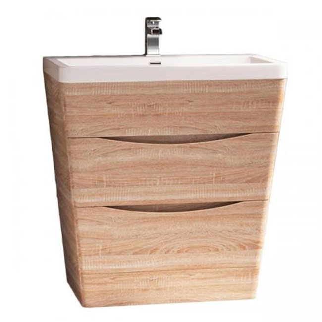 Tomasucci Bathroom vanity with sink B065 L 80 x H 97 cm