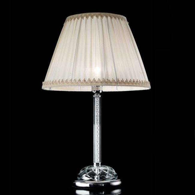 Crystal Table lamp Carmen Ciciriello 1 Light E27 H 61 cm