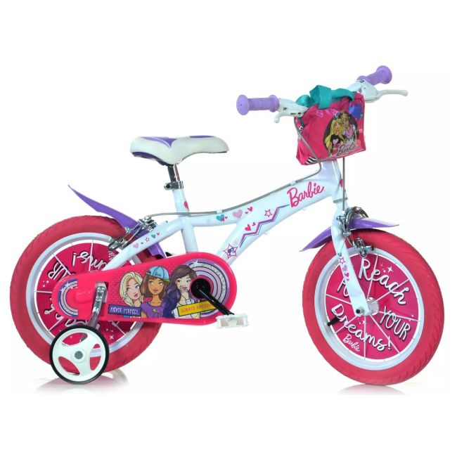 Bicycle for Children 14'' 2 Brakes Barbie