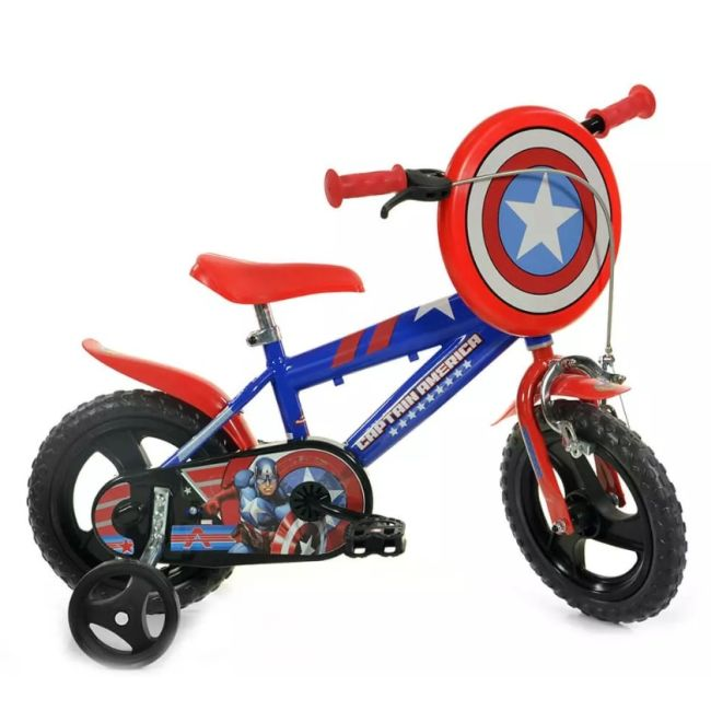 Bicycle for Children 12'' 1 Brake Capitain America