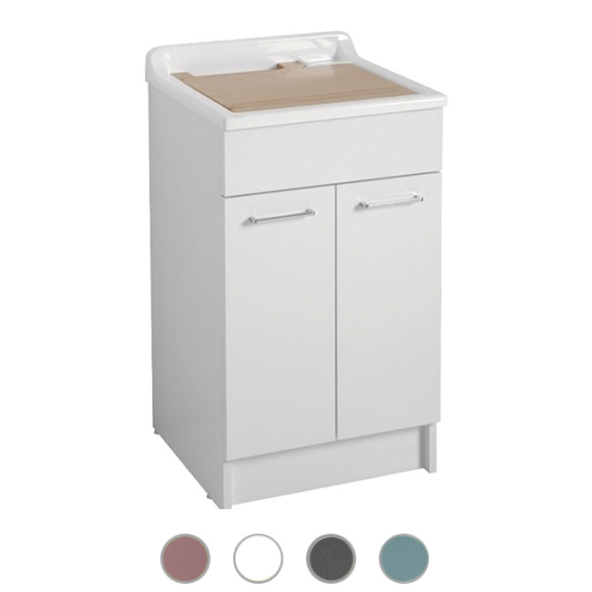 Colavene Jollywash 50x50x86 sink with sliding and removable laundry basket