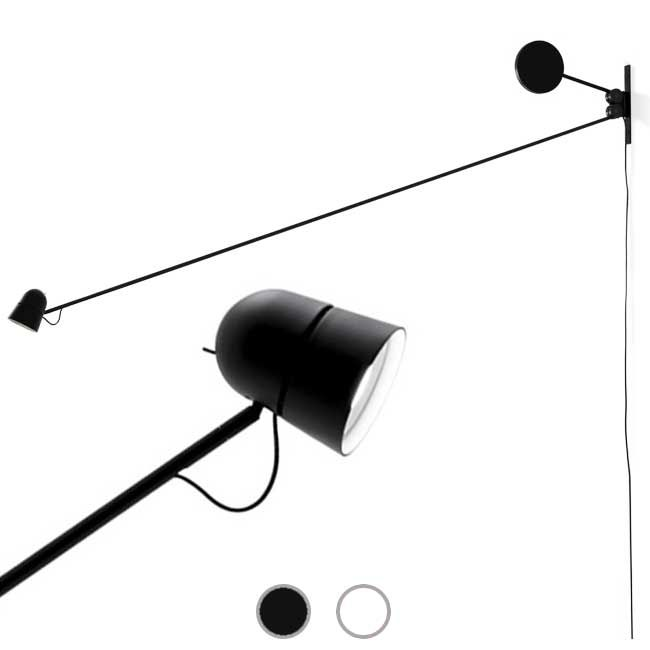 Luceplan Wall lamp Counterbalance LED 15W L 191,6 cm Dimmable
