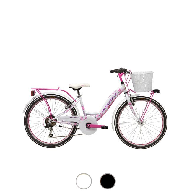 Bicycle for girl 24'' H 35 cm Cicli Adriatica CTB 24