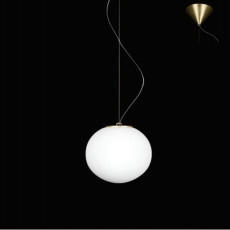 Leucos Pendant lamp Sphera S 1 Light E27 Bronzo