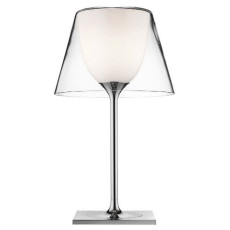 Flos Table Lamp KTribe T1 Ø 31,5 cm H 56 cm 1 Light Transparent