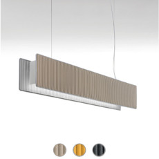 Modo Luce Suspension lamp Righello LED 48W L 125 cm dimmable