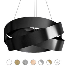 Marchetti Pura Pendant lamp 3 lights E27 Ø 60 cm Various Colors