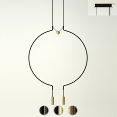 Axo Light suspension lamp Liaison M2 LED 18W L 84.5 cm
