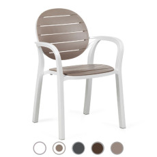 Nardi armchair Palma L 59 cm stackable Outdoor and Garden