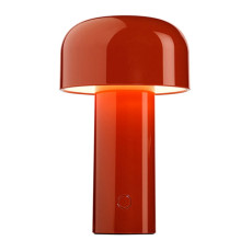 Rechargeable battery lamp Table lamp Flos Bellhop LED 2.5W H 21 cm brick red