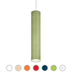 Modo Luce pendant lamp Lost 7 luci E27 Ø 40x200 cm dimmable - cotton