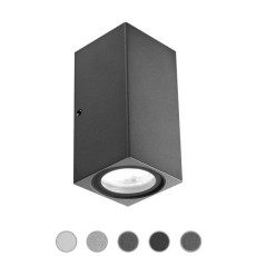 Ares Wall lamp Delta LED H 10 cm IP65 Outdoor and Garden