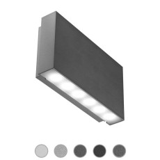Ares Wall lamp Gamma LED 2,5W L 13 cm IP65 Outdoor and Garden
