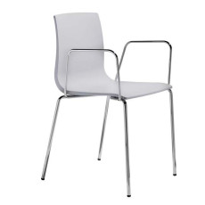 Scab chairs with armrests Alice, stackable