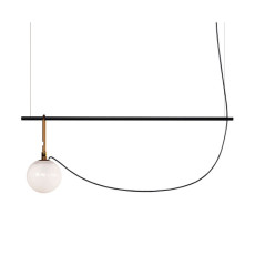 Artemide suspension lamp Nh S2 14 1 luce E14 L 90.5 cm dimmable