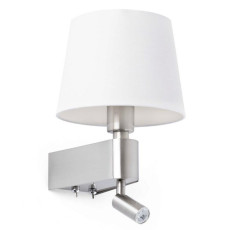 Faro Room Wall lamp with LED reader H 29 cm 1 Light