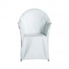 Driade LORD YO Armchair with upholstery, also for Outdoor