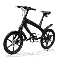 E-City Bike V-ITA Evolution Solid with Bluetooth-Black technology