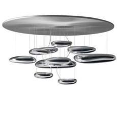 Artemide Mercury Ceiling LED ø110 2 lights LED Dimmable