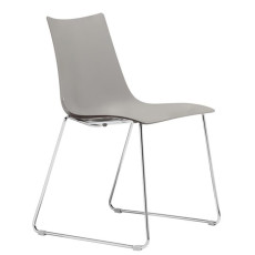 Scab Chairs Zebra sled, stackable