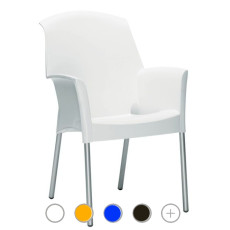 Scab Super Jenny chair, different colors, stackable, fireproof, also for garden