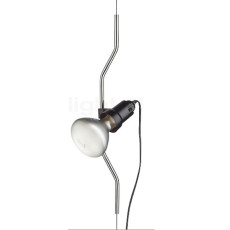 Flos Element Lamp additional Parenthesis with Dimmer Nickel