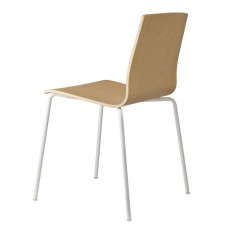 Scab Chairs Alice Wood, stackable