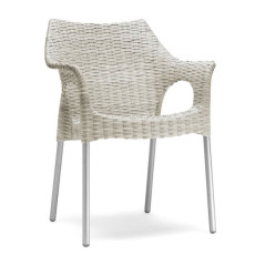 Scab chairs Olimpia, stackable, also for garden