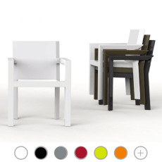 Vondom armchair Frame L 54 cm Basic, stackable