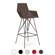 Vondom stool with armrests Faz,also for outdoor use