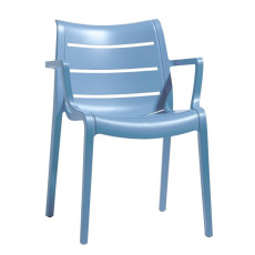 Scab Chair Sunset Chairs with armrests,various colors,stackable,also for garden