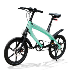 E-City Bike V-ITA Evolution Solid with Bluetooth-Aquamarine technology