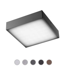 Ares Wall/Ceiling lamp Beta LED 3W L 11,8 cm IP65 Outdoor and Garden