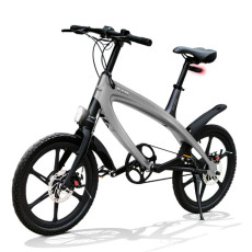 E-City Bike V-ITA Evolution Solid with Bluetooth-Dark Gray technology