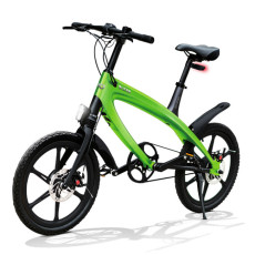 E-City Bike V-ITA Evolution Solid with Bluetooth-Green technology