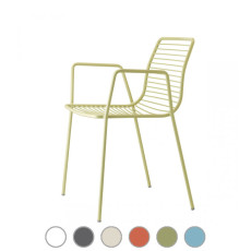 Scab Stackable armchair SUMMER H 80 cm For indoor and outdoor use