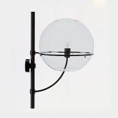 Oluce Wall lamp Lyndon E27 H 53 cm for outdoors and Garden