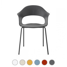 Scab Stackable chair LADY B H 78 cm For indoor and outdoor use