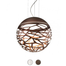 Studio Italia Design Pendant lamp Kelly Sphere 3 lights E27 Ø 50 cm