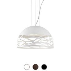 Studio Italia Design Pendant lamp Kelly Small 3 lights E27 Ø 50 cm