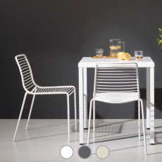 Scab Stackable table SUMMER 80x80 cm For indoor and outdoor use