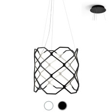 Nemo suspension lamp Titia LED 90W Ø 70 cm dimmable