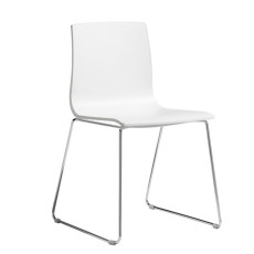 Scab Chairs Alice in Sledge, stackable