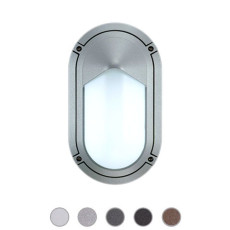 Ares Wall/Ceiling lamp Sam 1 Lights E27 L 15 cm IP65 Outdoor and Garden