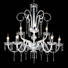 Crystal Chandelier Carmen Ciciriello 8 Lights E14 Ø 86 cm
