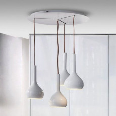 Oluce Canopy with Round Suspension lamps Lys-434 Ø 60 cm